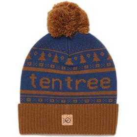 tentree Cabin Pom Beanie Rubber Brown